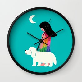 As Time Passes By Wall Clock