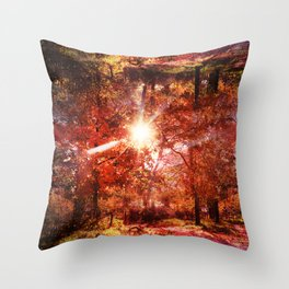 What's Up, Is Down Throw Pillow