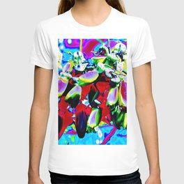 """Kiwi Lifestyle"" - Kowhai Pop ART T-shirt"