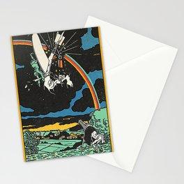 Rainbow Obstacle (Hindernis Regenbogen) 1911 Stationery Cards