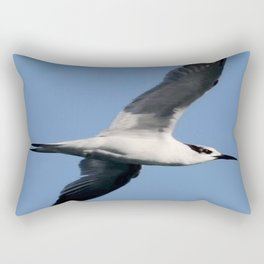 Sandwich Tern In Flight Vector Rectangular Pillow