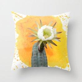 Pachanoi San Pedro Throw Pillow