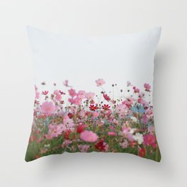 Flower photography by MIO ITO Throw Pillow