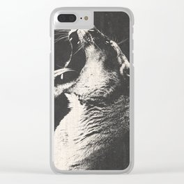 The Lioness Clear iPhone Case