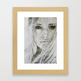 Stay with me Framed Art Print