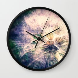 Tragopogon Wall Clock