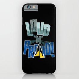 Saint Lucia Pride Loud N Proud iPhone Case