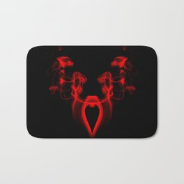My Smoking Heart Red Bath Mat