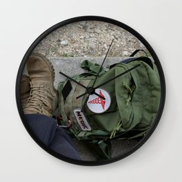 Packed Wall Clock