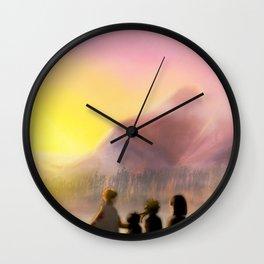 Sunshine Family Wall Clock