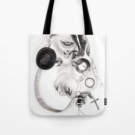 "P.O.A.M (Portrait of a Memory) ""R"" Tote Bag"