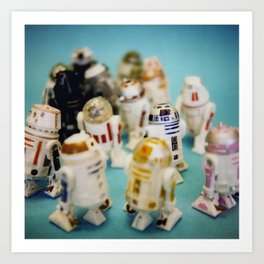 These Aren't the Droids You're Looking For Art Print