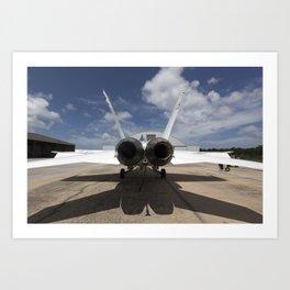 1178. Sonic Booms in Atmospheric Turbulence (SonicBAT) Testing Art Print