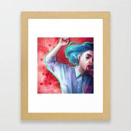 Tant Framed Art Print