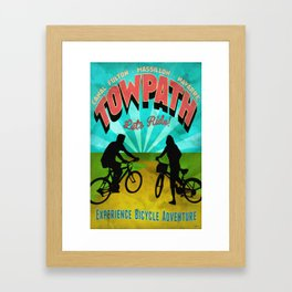 Canal Fulton Massillon Navarre Towpath Bicycle Adventure Framed Art Print