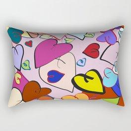 Hearts of Heart Rectangular Pillow