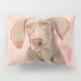 Pointer dog Pillow Sham