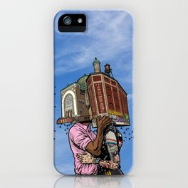 Building Lovers iPhone Case