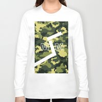 military Long Sleeve T-shirts featuring Military  by ''CVogiatzi.