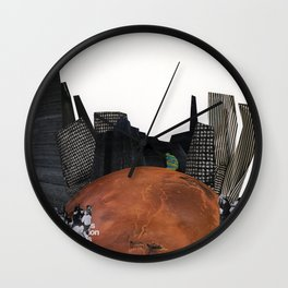 Alone in the World Wall Clock