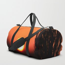 Through to the Setting Sun Duffle Bag