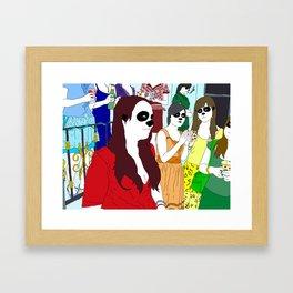 Formal Ladies Framed Art Print