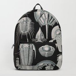 Ernst Haeckel Horseshoe Crab Vintage Illustration Backpack