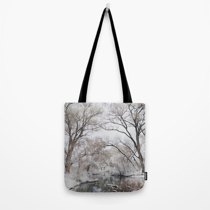 Winter Creek Canopy Tote Bag