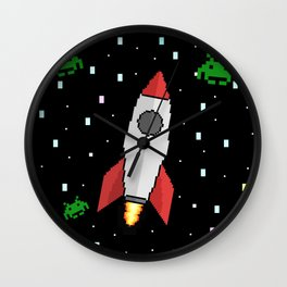 Space Invader Wall Clock