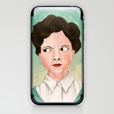 Miss Unbelievably Angry iPhone & iPod Skin