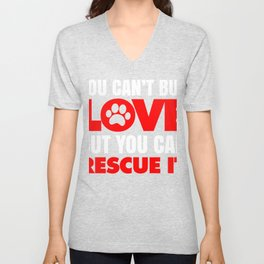 You Can't Buy Love Unisex V-Neck