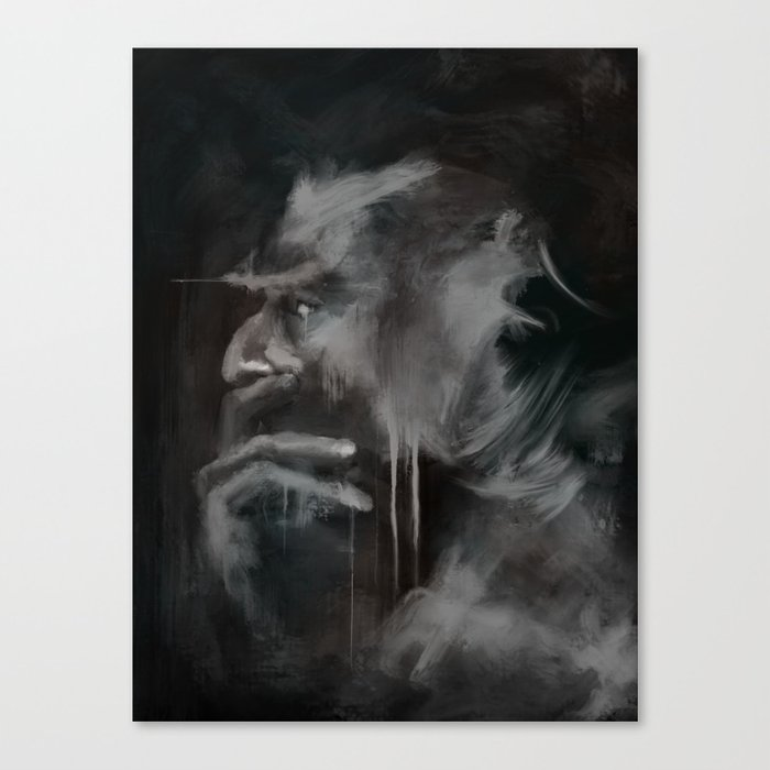 Thinker Canvas Print