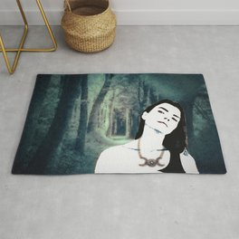 Witch In the Woods Rug