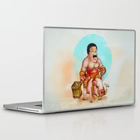 cleveland Laptop & iPad Skins featuring Cleveland rider by Nicolaine