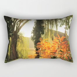 Rural scenery Rectangular Pillow