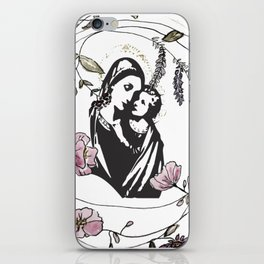 Behold the Child iPhone Skin