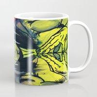 medicine Mugs featuring Medicine Man by Hugo Maldonado