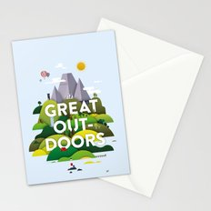 It's Great Outdoors Stationery Cards