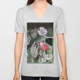 The Garden of Forgotten Happiness diorama Unisex V-Neck