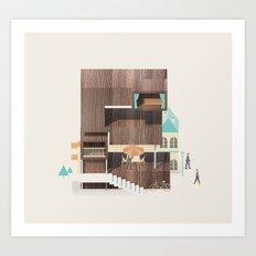 Resort Type - Letter E Art Print