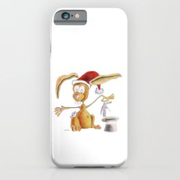 A nice, magic bunny iPhone Case