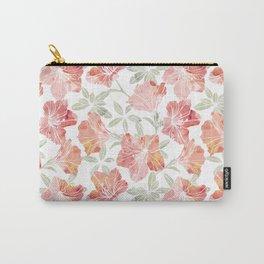 Peach pink azaleas Carry-All Pouch