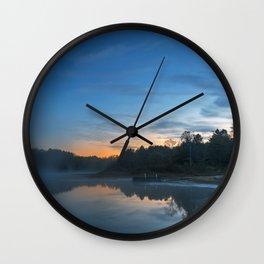 Pendleton Dawn Lake Wall Clock