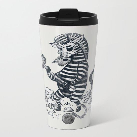 Natures Prisoner Metal Travel Mug