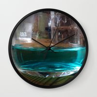 drink Wall Clocks featuring drink by Beatrice