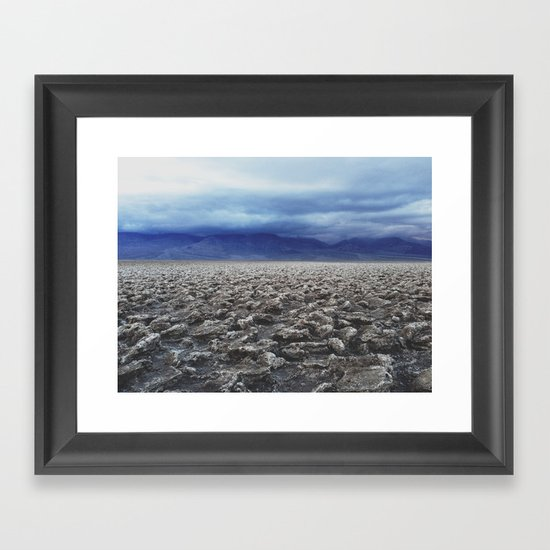 The Devil's Golf Course Framed Art Print