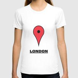 London map icon T-shirt