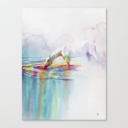 Infusion Canvas Print