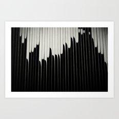 STEEL & MILK II. Art Print