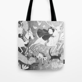 Run Along Now, and Don't Get Into Mischief! Tote Bag